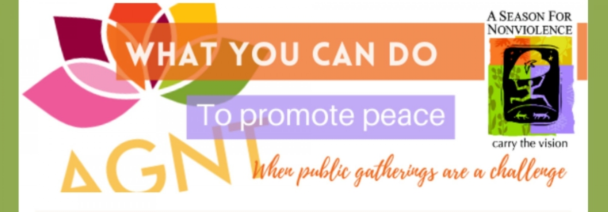 What Can You Do To Promote Peace When Public Gatherings are a Challenge